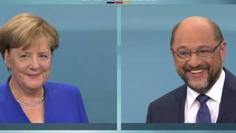 Das TV-Duell zwischen Merkel und Schulz wurde von vielen Zuschauerinnen und Zuschauern als zu lau kritisiert. Zu einer - hoffentlich spannenderen - zweiten Affiche kommt es jedoch nicht: Merkel will nicht.