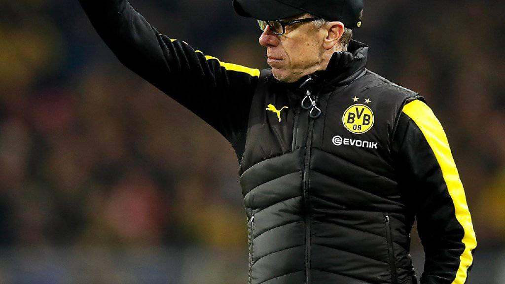 Peter Stöger erlebt mit Dortmund einen erfolgreichen Einstand