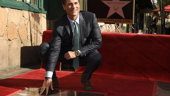 Stern Nummer 2567 für Schauspieler Rob Lowe in Hollywood.