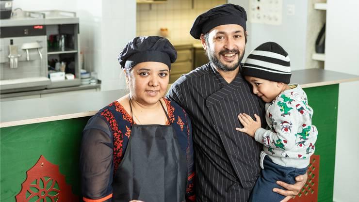 Sultan und Thamina Bepari eröffnen das Restaurant «Halde».