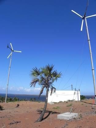 Durch die Windenergieanlage werden rund 5000 Menschen mit Strom versorgt