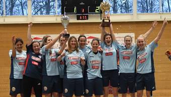 Das Siegerteam BSC Jona NLA.
