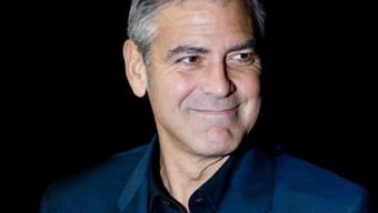 Möchte mal Merkel spielen: George Clooney (Archiv)