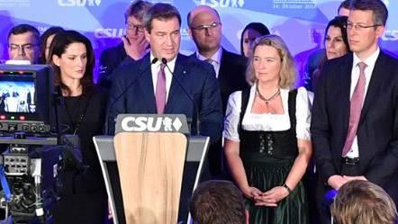 Wahlschlappe für CSU in Bayern