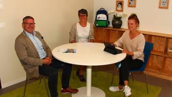 Gut unterwegs (von links): Karsten Bugmann, Rosi Urech und Seraina Zachleder.
