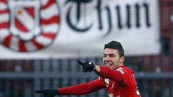 Matchwinner für Thun: Alexander Gonzalez mit 1 Tor und 1 Assist