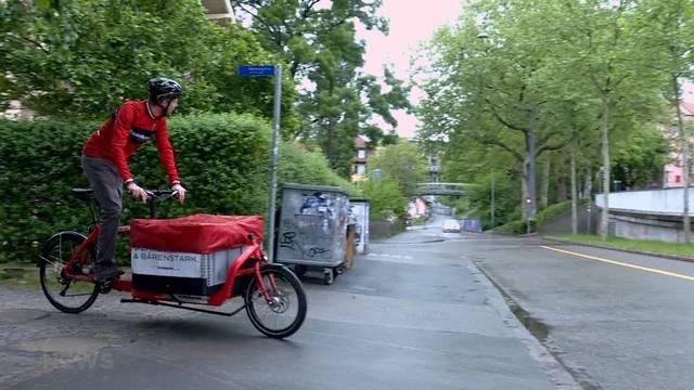 Bern unterstützt KMUs beim Kauf von Cargo-Bikes