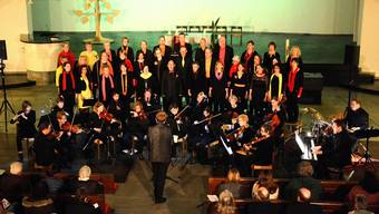 Der Schönenwerder Gospelchor «sing2gether» beschenkte die Zuhörer in der katholischen Kirche zum Jubiläum mit einem aussergewöhnlichen Konzert.