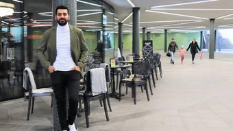 Ein Teil der Cordulapassage wird am Wochenende für die Party von Barbesitzer Bassam Algailani abgesperrt.