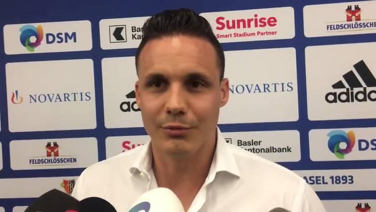 Thumb for 'Miteigentümer David Degen über seine Pläne mit dem FC Basel'