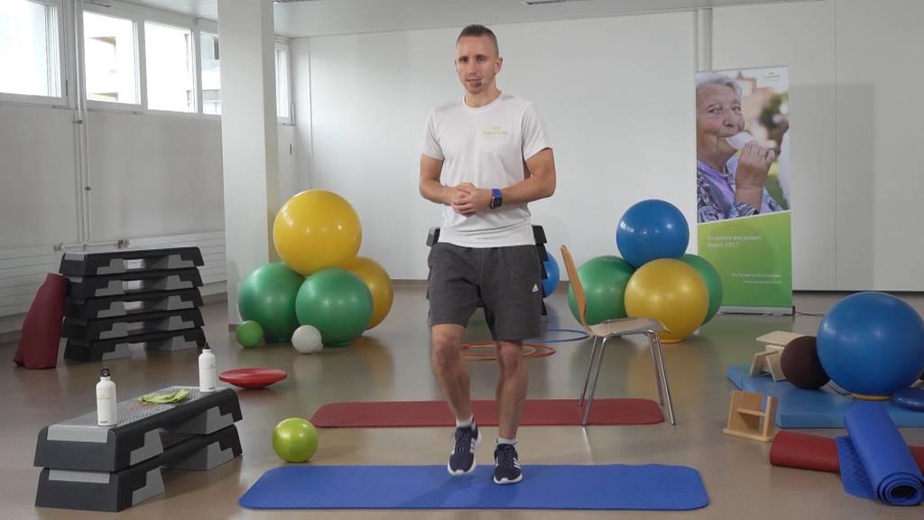 «Gymnastik im Wohnzimmer» vom 1. Juni 2021