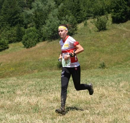 Anina Brunner am 5-Tage-OL in Kroatien