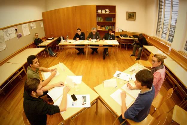 Die Jury beurteilte die Jugendlichen unter anderem anhand deren Überzeugungskraft