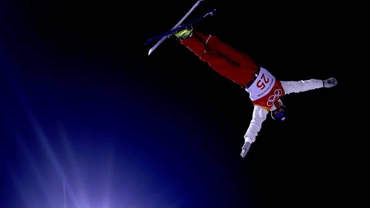 Dimitri Isler, hier bei seinem Olympia-Einsatz in Südkorea, steht an der Schwelle zur Weltelite