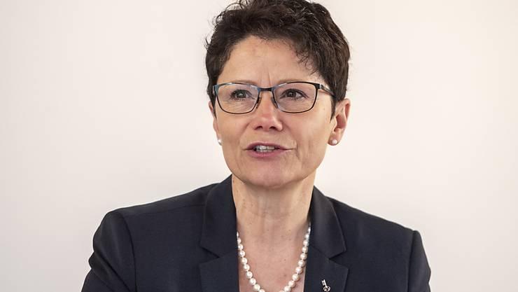 Die Obwaldner Finanzdirektorin Maya Büchi kann aufatmen: Das Stimmvolk sagte Ja zur Steuererhöhung. (Archivbild)