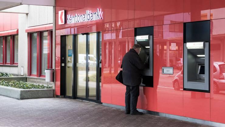 Die Basellandschaftliche Kantonalbank in Pratteln.