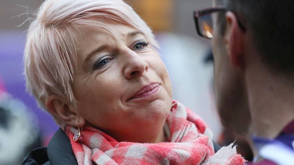 ARCHIV - Australien will die umstrittene britische Kolumnistin Katie Hopkins wegen Verstößen gegen die Corona-Regeln aus dem Land werfen. Die 46-Jährige, die für extrem rechte Ansichten bekannt ist, sollte dort an einer Reality-TV-Show teilnehmen. Foto: Philip Toscano/PA Wire/dpa Foto: Philip Toscano/PA Wire/dpa