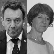 Peter Maurer und Annemarie Huber-Hotz