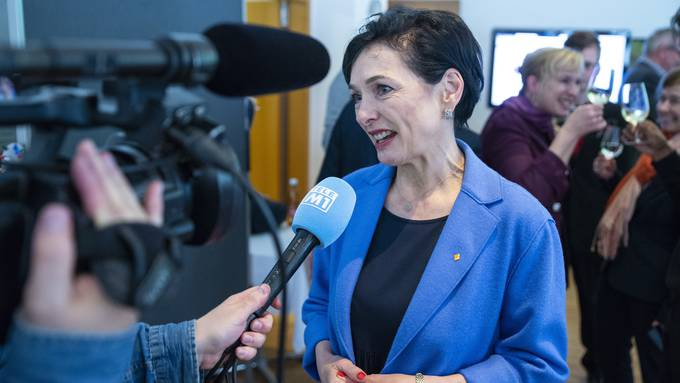 Die CVP konnte mit Marianne Binder einen zusätzlichen Sitz im Nationalrat gewinnen.