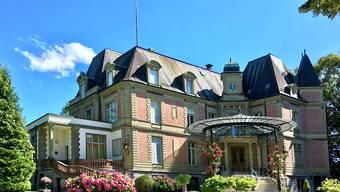 Die Villa von Tscharner in Bern ist heute die französische Residenz. Aus Anlass des Denkmaltags vom nächsten Wochenende öffnet sie ausnahmsweise ihre Pforten für alle Interessierten. (zVg NIKE)