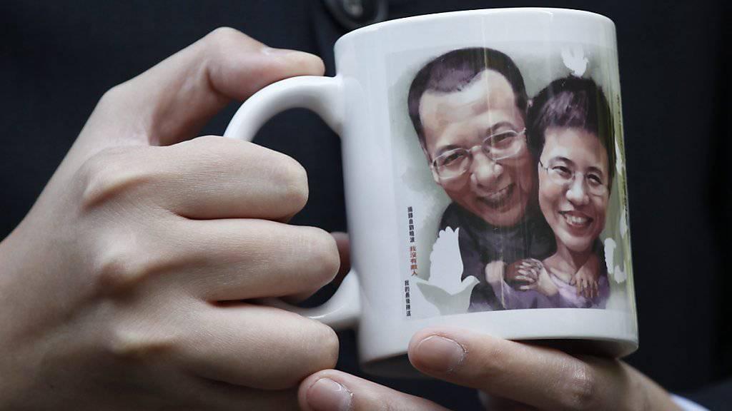 Gefangen im Heimatland: Der schwer krebskranke Friedensnobelpreisträger Liu Xiaobo und seine Frau Liu Xia dürfen China nicht verlassen. (Archivbild)
