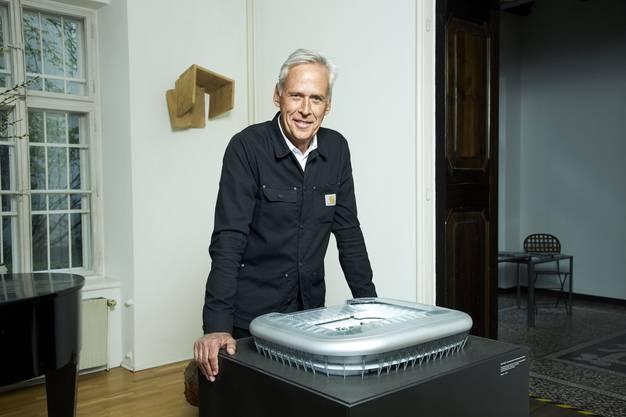 Klaus Littmann Vermittler zeitgenössischer Kunst