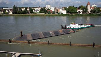 Havarie auf dem Rhein