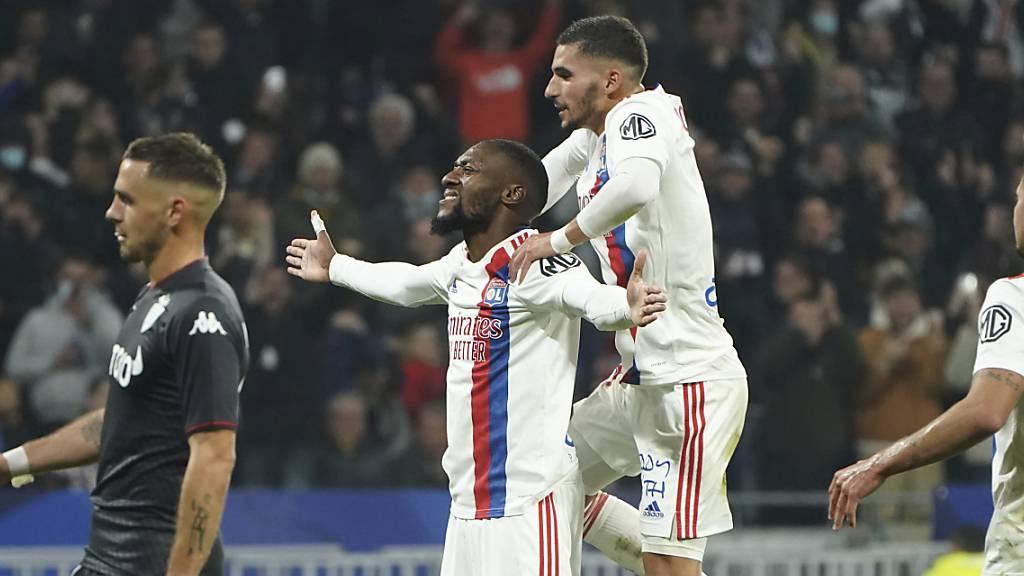 Lyon gewinnt nach Shaqiris Auswechslung