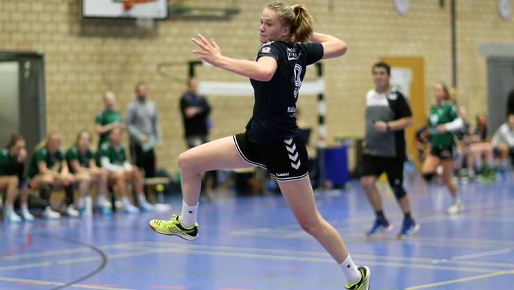 Alina Stählin im Dress der Leimentalerinnen möchte erneut zwie Punkte verbuchen.