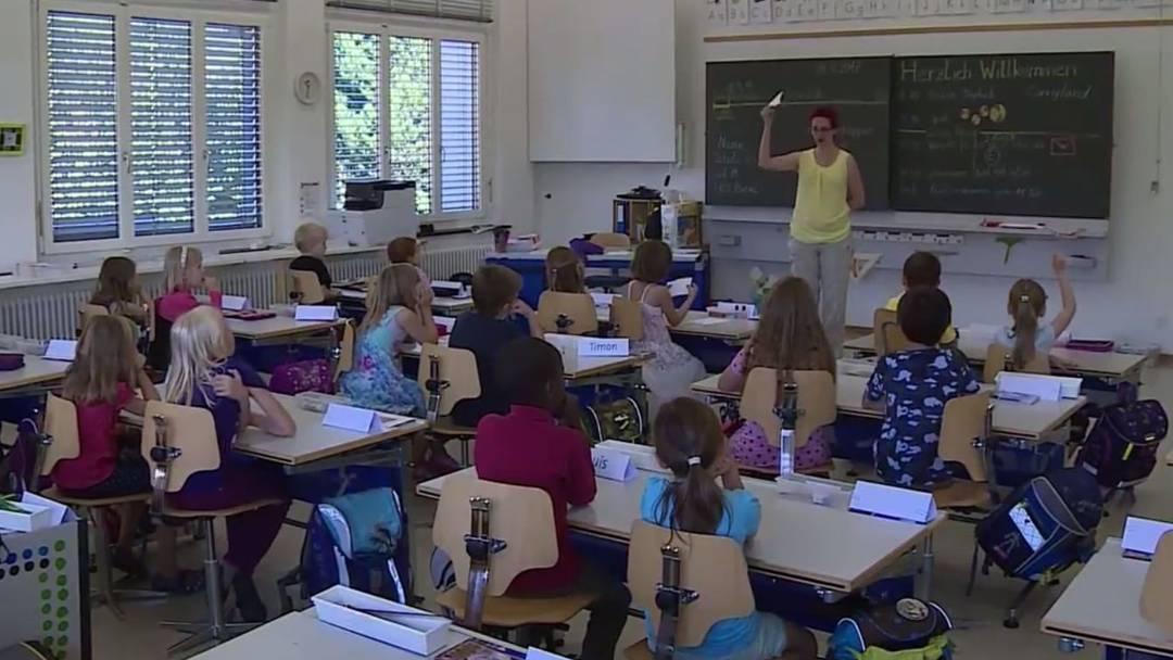 75'000 Kinder gehen im Aargau zur Schule