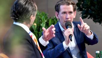 Kann sich in Österreich eine Neuauflage der Koalition mit der rechtspopulistischen FPÖ vorstellen: Ex-Kanzler und ÖVP-Chef Sebastian Kurz. (Archivbild)