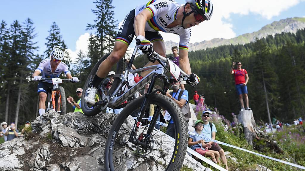 Nino Schurter jagt am Heim-Weltcup den Rekord von Julien Absalon