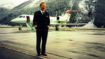 Als Pilot flog er die Reichen rund um die Welt. Auch in St. Moritz landete er «seine» Jets immer wieder.