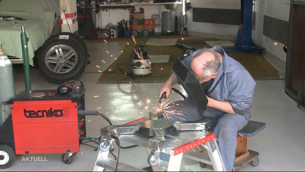 Wie verhindert man einen gefährlichen Funkenflug in einer Autowerkstatt?