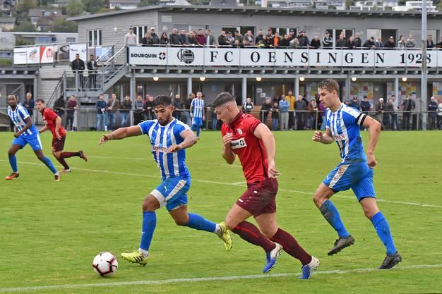 Das Direktduell der beiden Aufsteiger endete mit einem 3:2-Heimsieg für den FC Oensingen.
