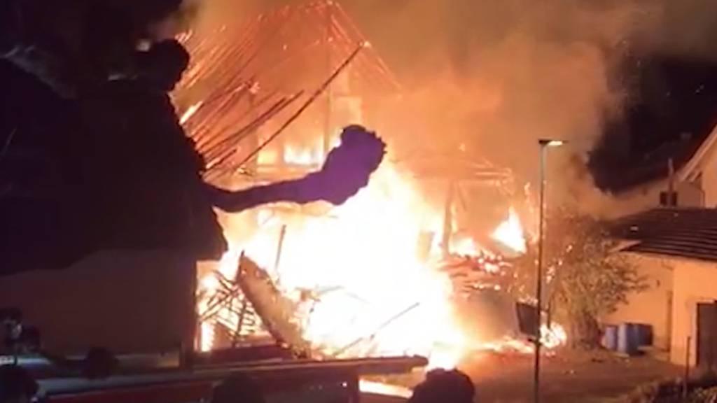 Merenschwander Brandstifter will schlimmsten Brand nicht zugeben