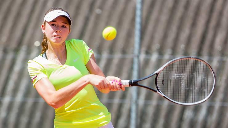 Simona Waltert gewann ihr Viertelfinalspiel souverän und kommt immer besser in Fahrt.