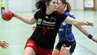 Handball NLB Frauen TV Wohlen gegen Leimental.
