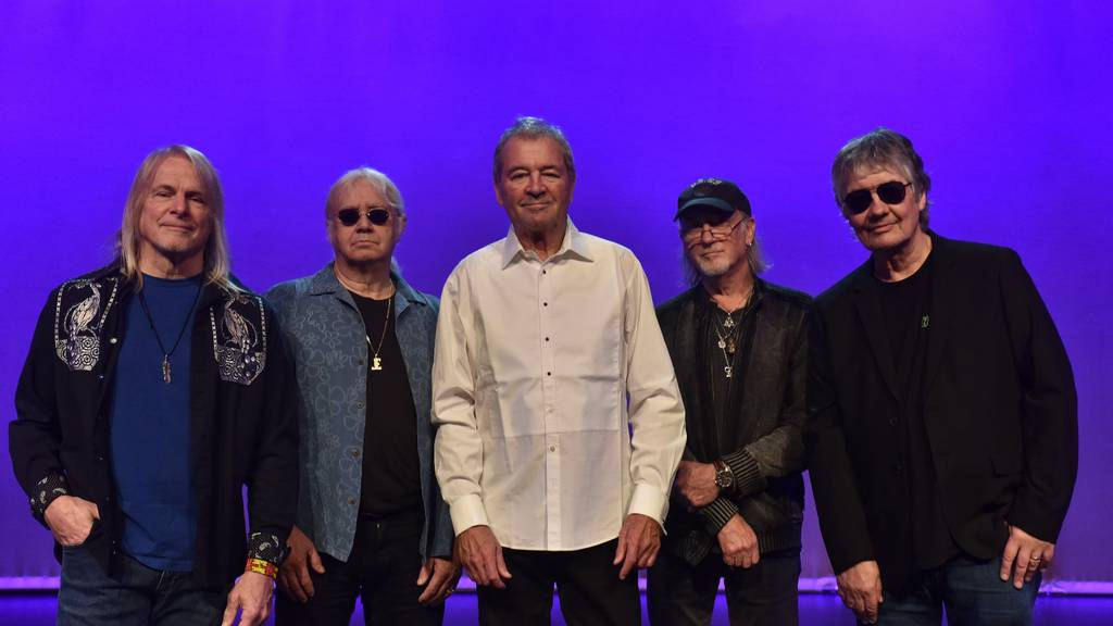 Hard-Rock-Pioniere Deep Purple rocken das Hallenstadion