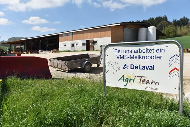 Seit rund einem Jahr betreibt das Agri-Team Winznau an der Lostorferstrasse 101 einen Melkroboter von DeLaval.
