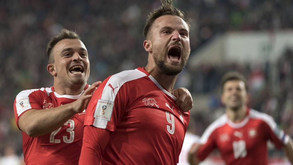 Schweizer Fussball-Nati vor Finalissima