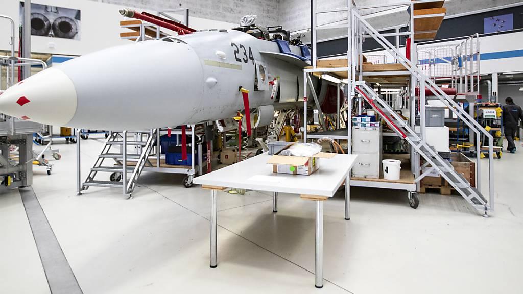 Breit abgestütztes Komitee lanciert Kampagne für neue Kampfjets