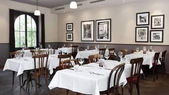 Die Brasserie Obstberg könnte auch in Frankreich stehen. Bild: zvg