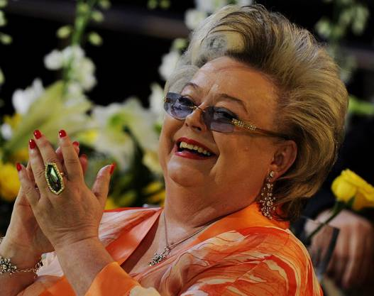 Die Sängerin während der Gala zum Prix Walo in Pfäffikon im Jahr 2010.