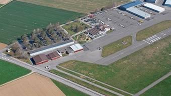 Die Maschine startete am Flugplatz Birrfeld.