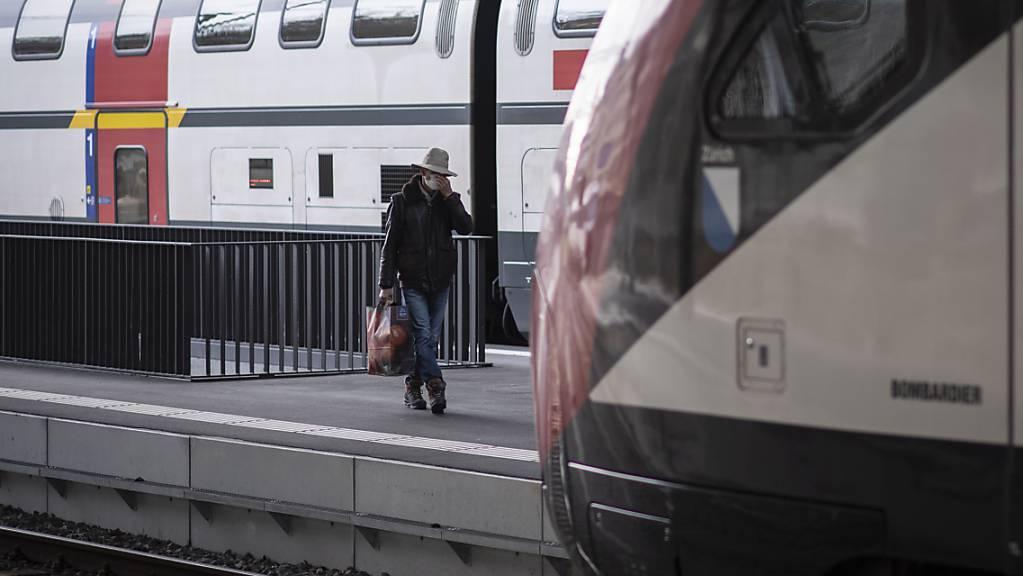 Alle Züge zwischen Lausanne und Palézieux wurden gestrichen, nachdem ein Zug entgleist war (Archiv).