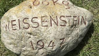 Der Weissenstein-Stein am Weissenstein-Schwinget