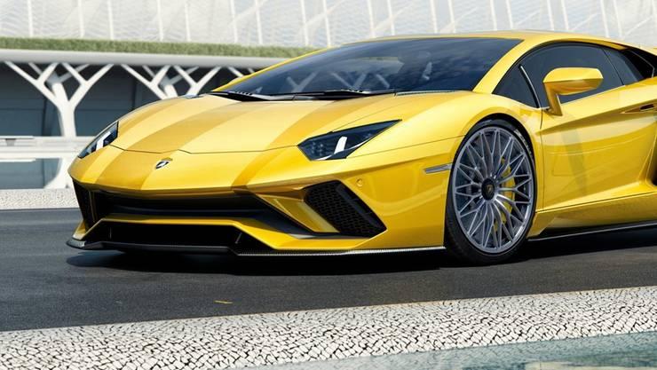 Das Objekt seiner Begierde: Ein Lamborghini. (Symbolbild)