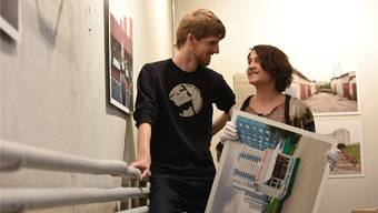 Valentin Wyss und Luzia Böni haben die Ausstellung zur Stadt Nizhnij Novgorod (Russland) erarbeitet.