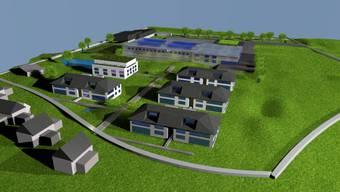 Bleibt eine Vision Visualisierung des Harvest-Komplexes in Seon. zvg
